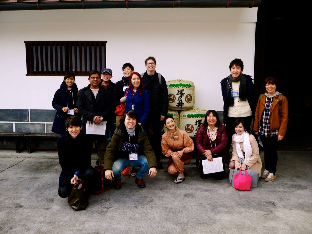 横浜 桜酒亭 外国人のお客様向け蔵元見学ツアー
